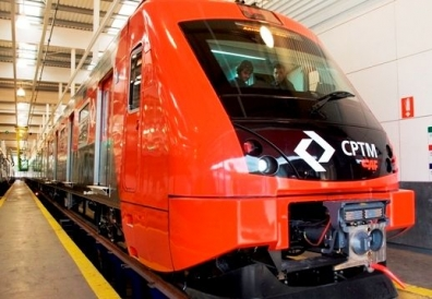 Novo trem da Linha 7-Rubi da CPTM entrou em operação em SP