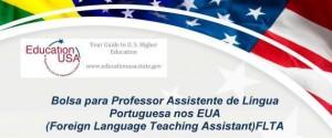 Bolsa para Professor Assistente de Língua Portuguesa nos EUA