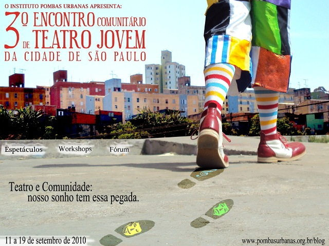 3º Encontro Comunitário de Teatro Jovem de São Paulo