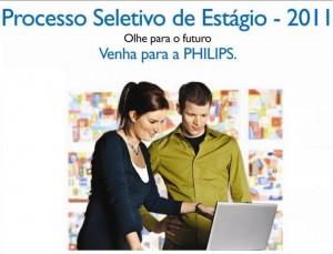 A Philips abre vagas para estágio em Barueri – SP