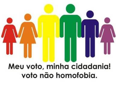 Voto pela cidadania LGBT e contra a homofobia