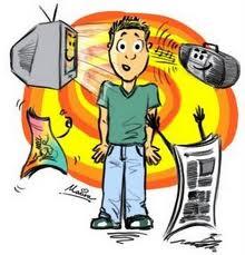 Pessoas passam metade do dia consumindo mídia, afirma estudo