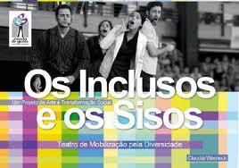 Oficinas gratuitas de teatro inclusivo no Rio de Janeiro