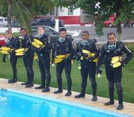 Bombeiros de Sumaré oferecem treinamento de mergulho