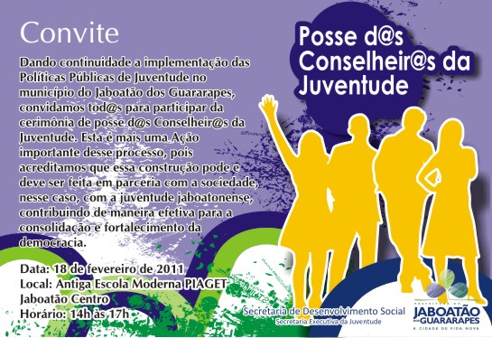 Posse das Conselheiras da Juventude em Jaboatão