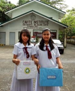 Escola nas Filipinas aceita lixo como pagamento