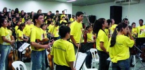 Projeto Guri em Sta Gertrudes atende mais de 180 jovens