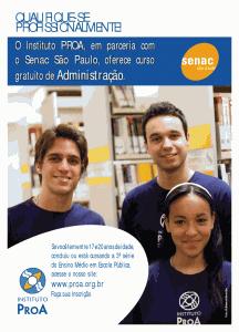 ProA oferece Bolsas de Estudos