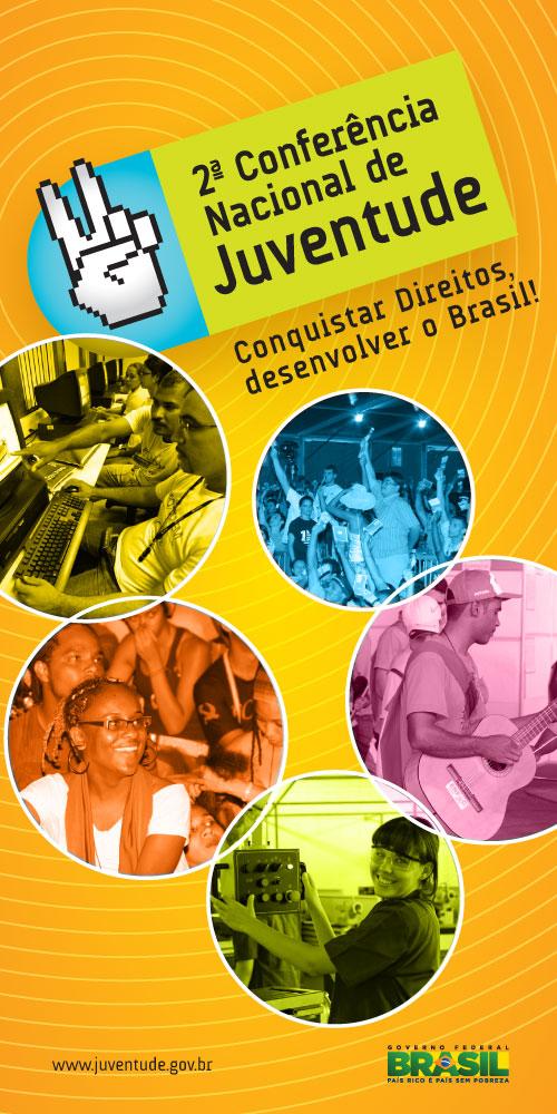 Publicado o texto-base nacional da 2° Conferência Nacional de Juventude