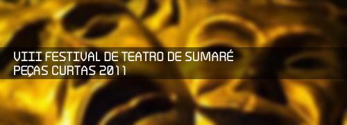 Sumaré promove 8º Festival de Peças Curtas