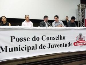 João Pessoa dá posse aos membros do Conselho Municipal de Juventude