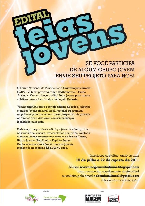 Edital Teias Jovens
