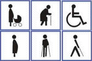 Bonecos ensinam respeito a vagas de deficientes e idosos em SP