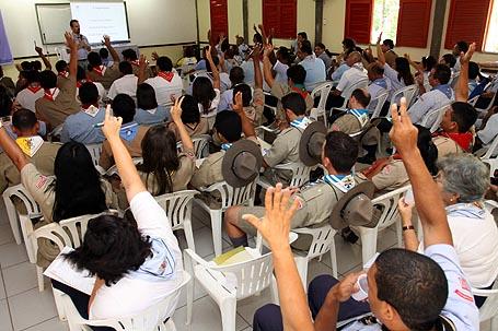 No Piauí, jovens do Nordeste discutem futuro do escotismo