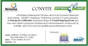 Programa Emprega Jovem certifica 200 jovens em Teresina
