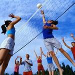 esporte juvenil, volley