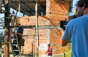 filmagem, comunidade