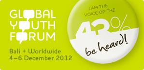 Inscrições abertas para o Fórum Global da Juventude