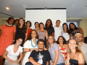 Coletivo unido no 1o encontro geral das três organizações