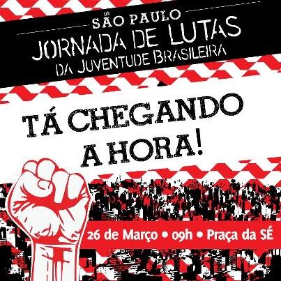Jornada de Lutas da Juventude ocupa as ruas do Brasil