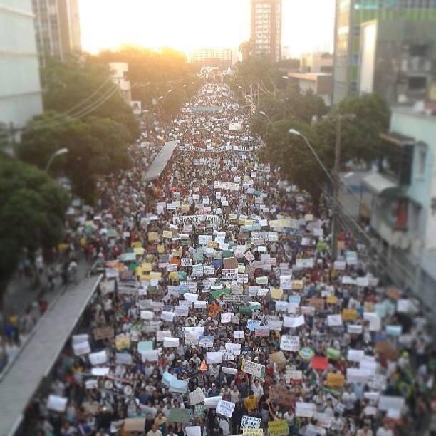 Algumas impressões da primeira mobilização no Recife