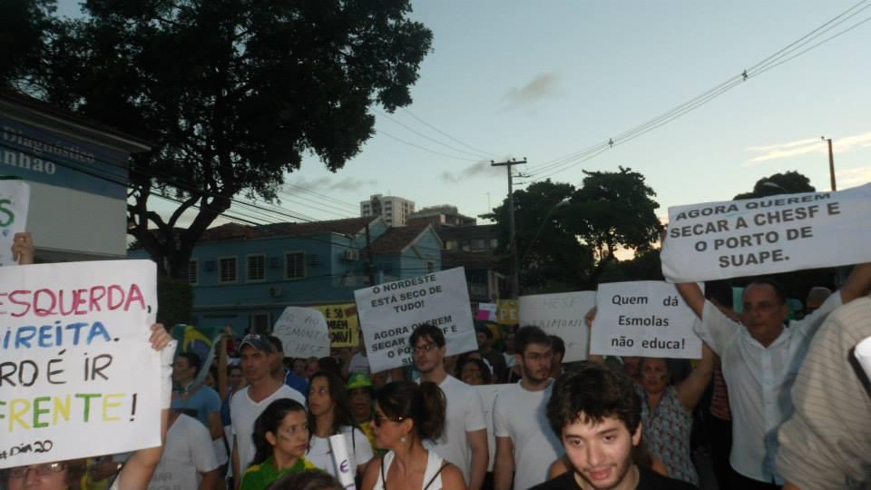 Acorda, Recife, Acorda! Isso não é o galo