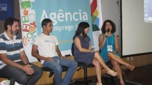Agência de Emprego Jovem: Representantes de Empresas, Empreendedores, Parceiros e Jovens movimentam o dia de lançamento da plataforma virtual de empregos