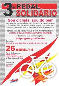 Belo Horizonte: Terceira edição do passeio ciclístico em prol da solidariedade