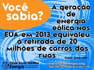 Fórum Social debate a problemática do consumo e produção de energia no Brasil