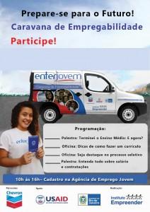 Enter Jovem: Caravana de Empregabilidade atenderá estudantes em mais de 70 escolas do estado do Rio