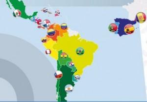 mapa iberoamerica cupula cartagena