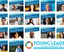 ONU reconhece 17 jovens como líderes para os Objetivos de Desenvolvimento Sustentável