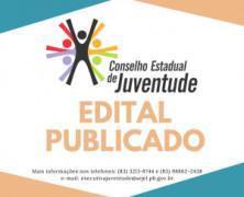 Inscrições abertas para eleição do Conselho da Juventude da Paraíba