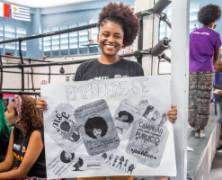 ONU Mulheres debate racismo e empoderamento de meninas e mulheres com jovens do Complexo do Alemão