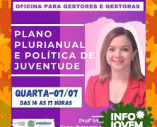 Governo de Pernambuco realiza oficina sobre PPA para Gestores de Juventude