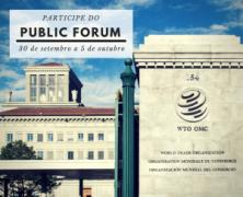 Diplomacia Civil seleciona delegações para fóruns mundiais do Banco Mundial, FMI e OMC