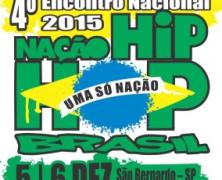 10 Estados confirmados no 4º Encontro da Nação Hip Hop Brasil