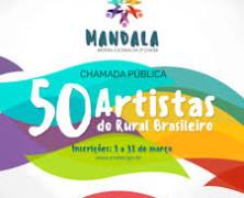 50 artistas do rural brasileiro serão selecionados para evento em Brasília