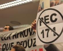 Câmara dos Deputados aprova a PEC da redução da maioridade penal