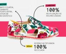 """Marca gaúcha  faz sucesso produzindo """"sapatos veganos"""""""