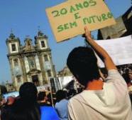 Desemprego entre jovens brasileiros é o dobro da média mundial