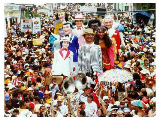 Começa as prévias do Carnaval 2010 de Olinda