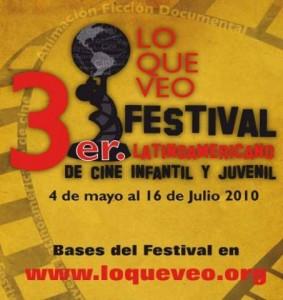 """3º Festival de Cinema Infantil e Juvenil """"O que eu vejo"""""""