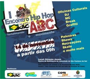1º Encontro da Nação Hip Hop – ABC
