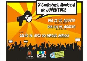 Conferência Municipal neste final de semana, no Barigui