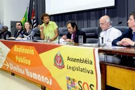 Leci aborda genocídio de jovens negros com Maria do Rosário