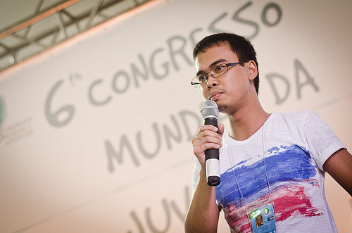 Jovens do mundo celebram poder da participação