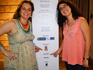 Fundadora da Associação Raízes da Tradição, Ana Paula Jones, e a presidente do Instituto Empreender, Mariza Soares.