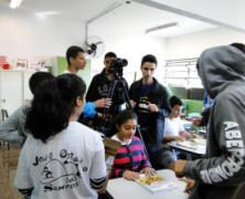Projeto Querô na Escola inicia as atividades levando oficinas de cinema para as escolas públicas de Santos e Cubatão