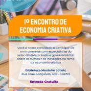 Guarulhos promove o 1º Encontro de Economia Criativa